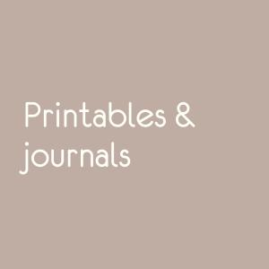 Printables en journals